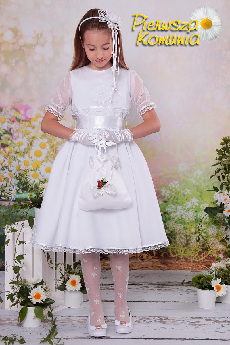 851976dca3 Sukienka 38 SK - Sukienki klasyczne - Pierwszakomunia.pl