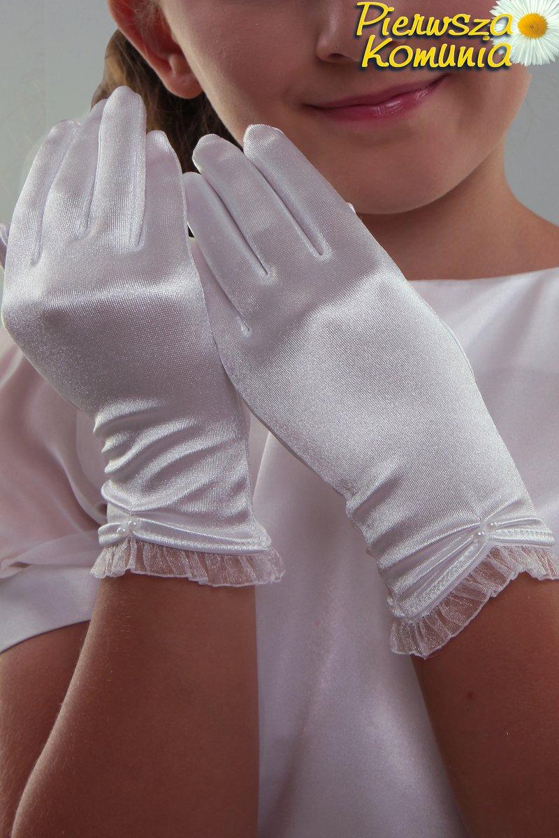 b173a59a33 Rękawiczki komunijne NR24 - Rękawiczki komunijne klasyczne ...