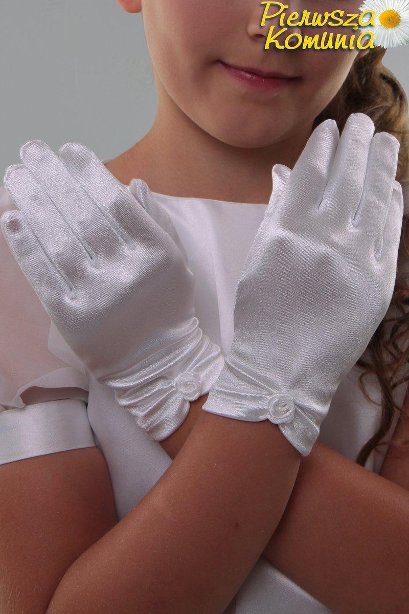 205b8595d2 Rękawiczki komunijne NR8 - Rękawiczki komunijne klasyczne ...